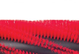 PARA BARRIDO 8 líneas de barrenos dobles en helicoide